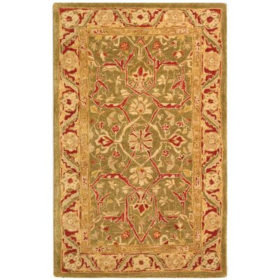 Pritchard Persimmon Area Rug Rug Size: Rectangle 3 x 5