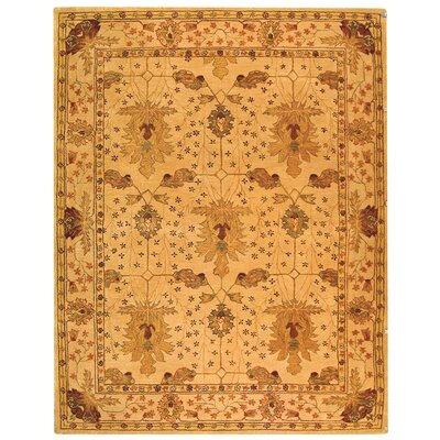 Anatolia Cream/Red Area Rug Rug Size: 9 x 12