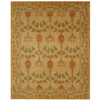 Anatolia Cream Area Rug Rug Size: Rectangle 6 x 9