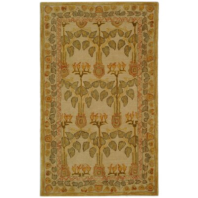Anatolia Cream Area Rug Rug Size: Rectangle 2 x 3