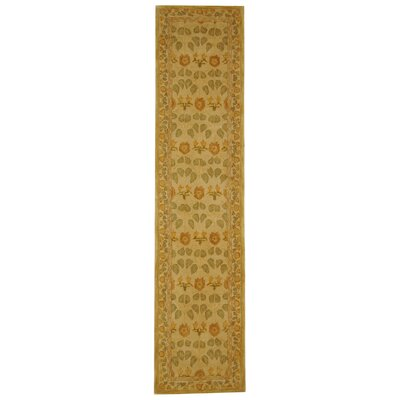 Anatolia Cream Area Rug Rug Size: Runner 23 x 14