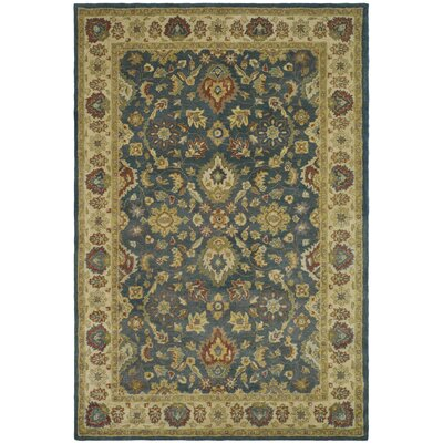 Antiquities Blue/Beige Area Rug Rug Size: 6 x 9