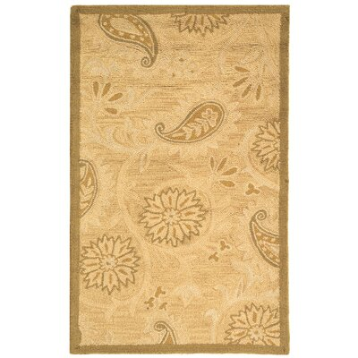 Berkeley Light Brown Area Rug Rug Size: 3'9