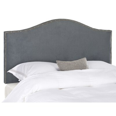 Connie Full Upholstered Panel Headboard Upholstery: Grey
