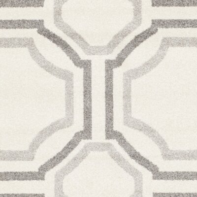 Maritza Ivory & Cream Area Rug Rug Size: Rectangle 8 x 10