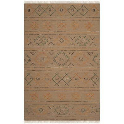 Safari Multi Colored Rug Rug Size: 4 x 6