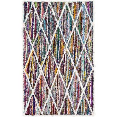 Anaheim-Hand Tufted Area Rug Rug Size: 5 x 8
