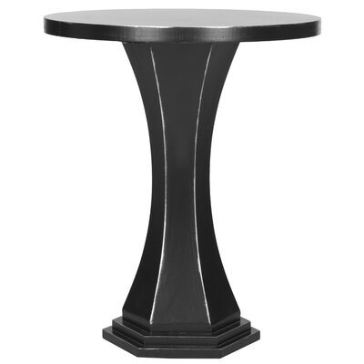 Alston End Table Color: Black