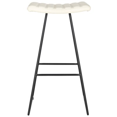 Akito 30 Bar Stool Upholstery: Cream