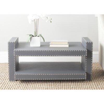 Garson Console Table Color: Grey