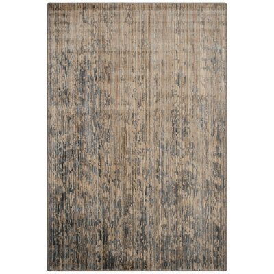 Infinity Beige/Gray Area Rug Rug Size: Rectangle 8 x 10