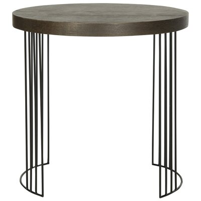 Kelly End Table Color: Dark Brown