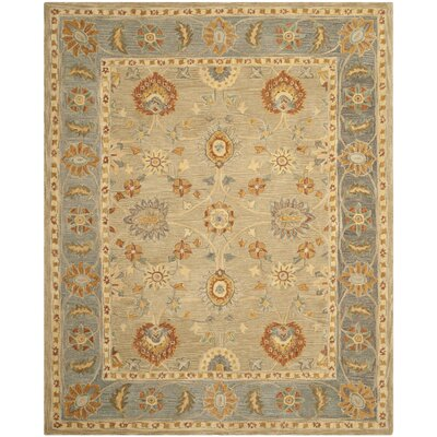 Anatolia Taupe/Grey Outdoor Area Rug Rug Size: Rectangle 8 x 10