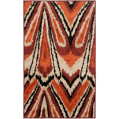 Kashmir Orange / Multi Rug Rug Size: Rectangle 4 x 6