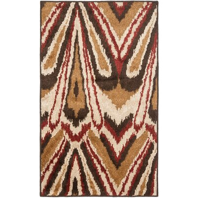 Kashmir Camel / Multi Rug Rug Size: Rectangle 4 x 6