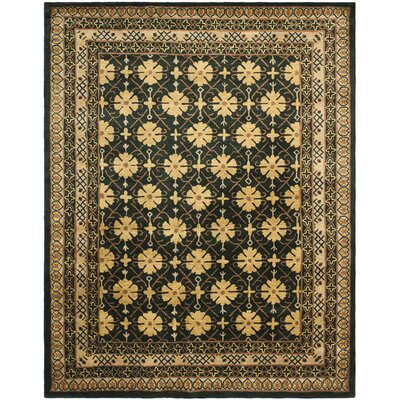 Classic Green/Apricot Rug