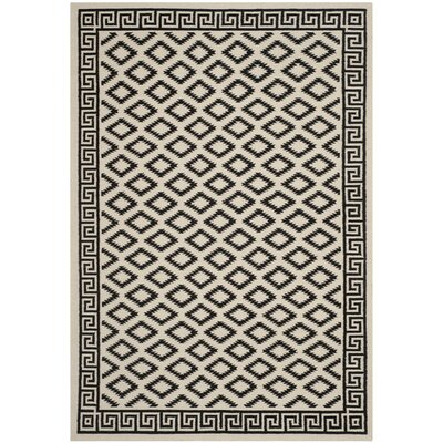Dhurries Brown/Ivory Area Rug Rug Size: 5 x 8