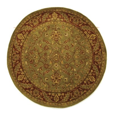 Cheap golden jaipur patina green rust area rug rug size for Where to buy round rugs
