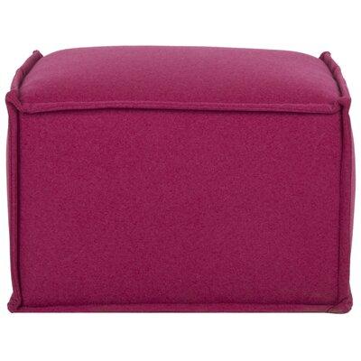 Elaine Ottoman Upholstery: Berry