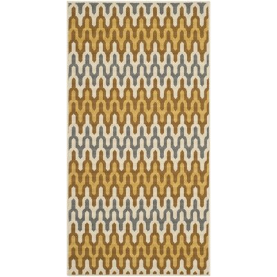 Kelston Camel Outdoor Area Rug Rug Size: Rectangle 4 x 6