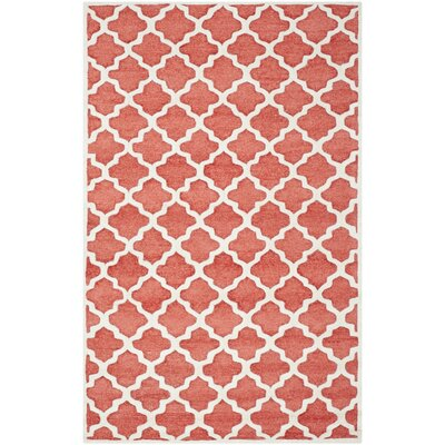 Precious Rose Outdoor Rug Rug Size: Rectangle 8 x 10
