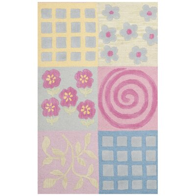Claro Tufted Pink Area Rug Rug Size: Rectangle 8 x 10