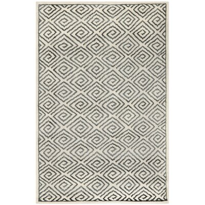 Mosaic Beige / Grey Geometric Rug Rug Size: Rectangle 5 x 8