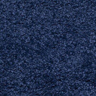 Milan Shag Navy Blue Area Rug Rug Size: 2' x 4'