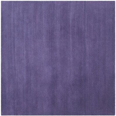 Himalayan Purple Area Rug Rug Size: Square 4'