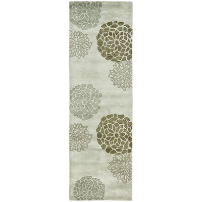 Soho Light Gray Area Rug Rug Size: Runner 26 x 12