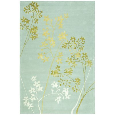Soho Light Blue Area Rug Rug Size: Rectangle 76 x 96