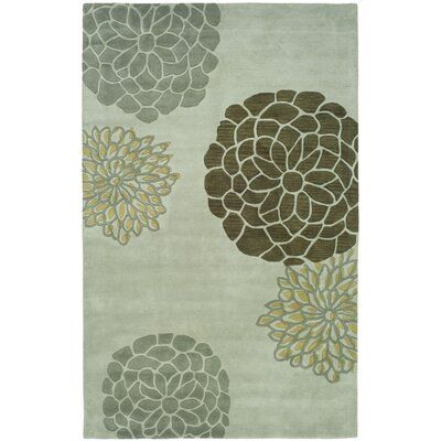 Soho Light Gray Area Rug Rug Size: 76 x 96