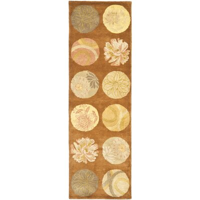 Rodeo Drive Light Brown Area Rug Rug Size: Runner 26 x 8