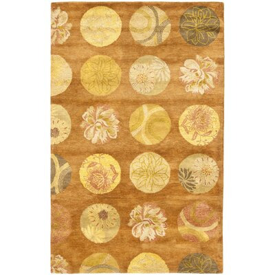 Rodeo Drive Light Brown Area Rug Rug Size: 36 x 56