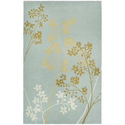 Soho Light Blue Area Rug Rug Size: 36 x 56