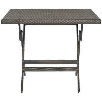 Samana Dining Table Color: Brown
