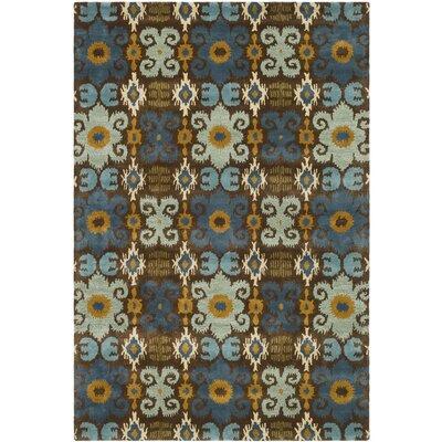 Soho Blue Contemporary Rug