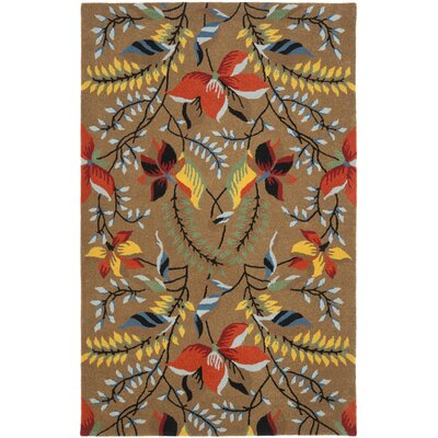 Soho Light Brown / Multi Contemporary Rug Rug Size: Rectangle 76 x 96