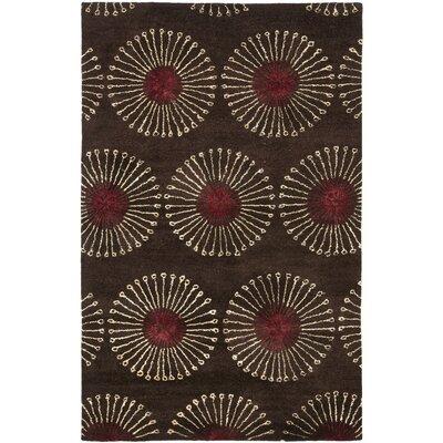 Soho Coffee / Brown Rug Rug Size: 83 x 11