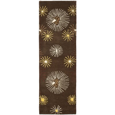 Soho Brown / Multi Rug Rug Size: Runner 26 x 6