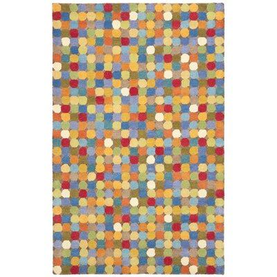 Soho Dark Light Multi Contemporary Rug Rug Size: 76 x 96