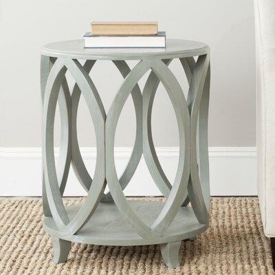 Janika End Table Finish: French Grey