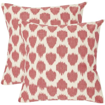 Sarra Cotton Throw Pillow Size: 18 H