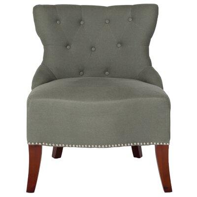 Zachary Tufted Living Room Slipper Chair Upholstery: Sea Mist