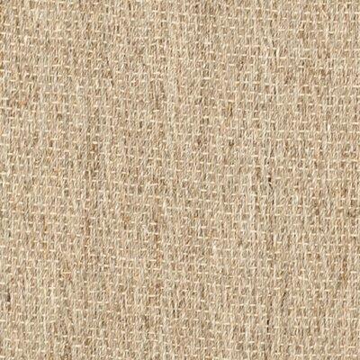 Natural Fiber Natural/Black Rug Rug Size: Square 6'