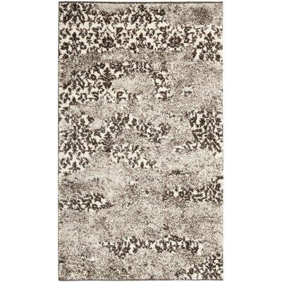 Davila Retro Beige/Light Grey Rug Rug Size: Rectangle 3 x 5