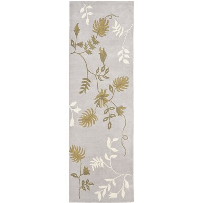 Soho Light Grey Area Rug Rug Size: Runner 26 x 8