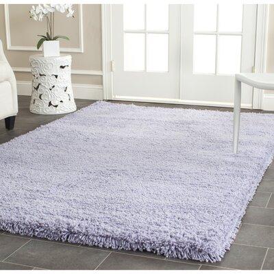 Shag Lilac Area Rug