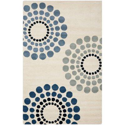 Soho Ivory / Multi Rug Rug Size: 76 x 96