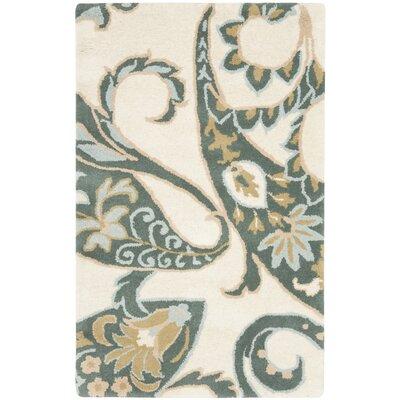 Wyndham Ivory / Multi Rug Rug Size: 8 x 10